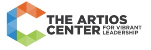 The Artios Center for Vibrant Leadership Logo